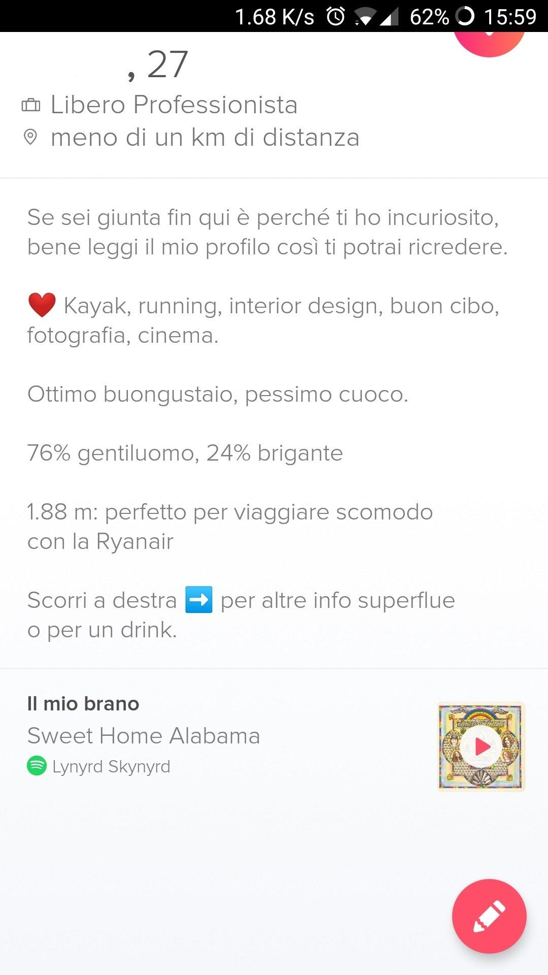 Tinder sesso Blog